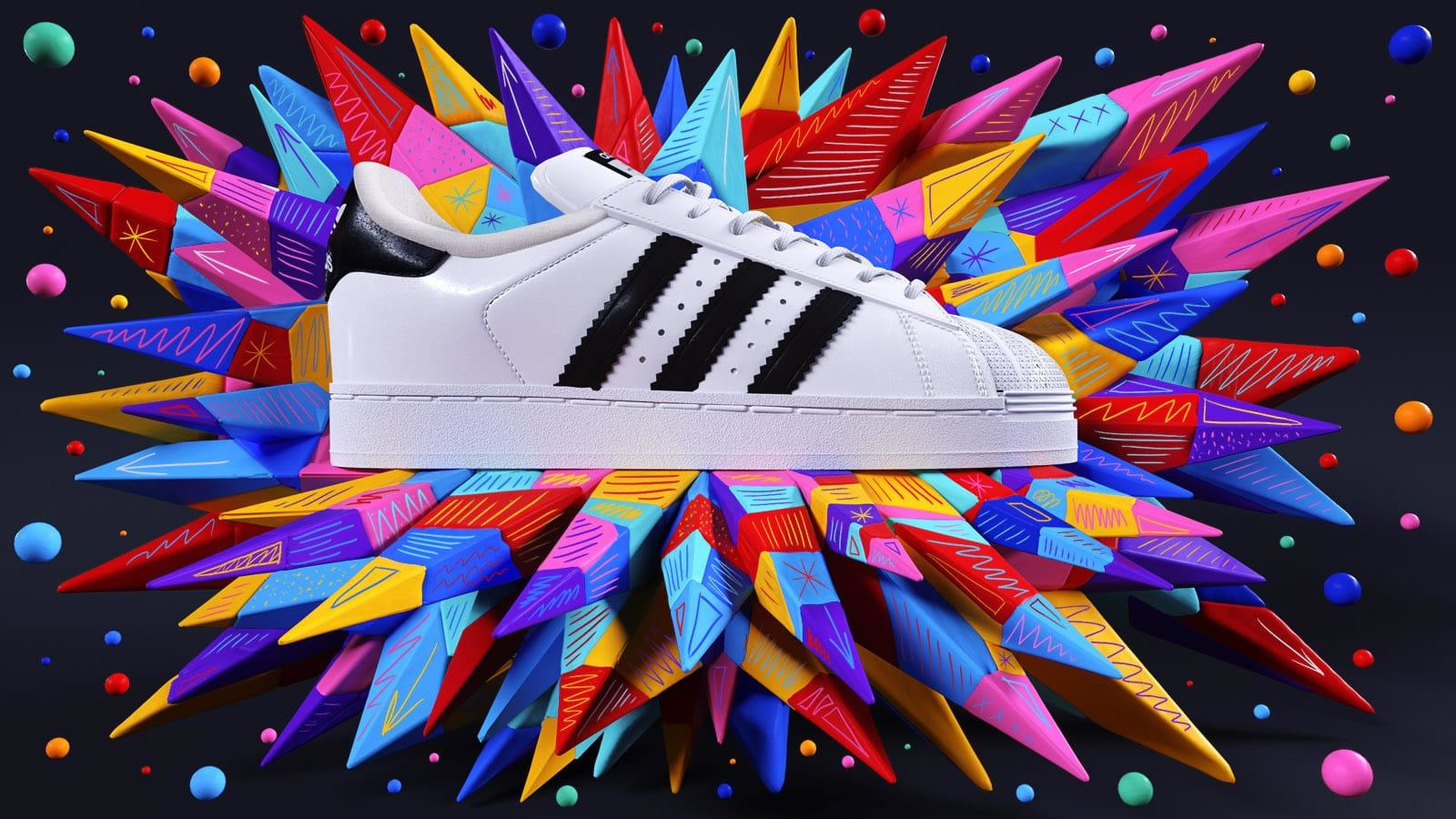 Adidas arrows